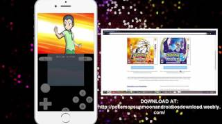 Working Pokémon Moon on iPhone using Drastic 3DS Emulator iOS (FULL DOWNLOAD)