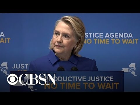 Hillary Clinton, N.Y. Gov. Andrew Cuomo discuss abortion rights Mp3