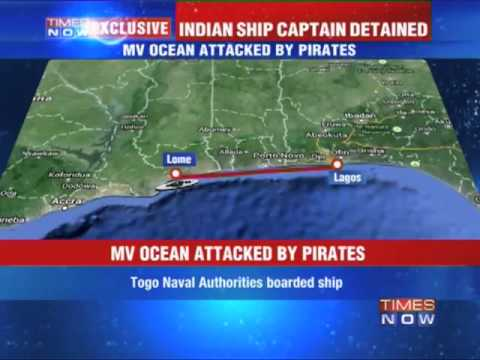 Indian ship captain detained by Togo