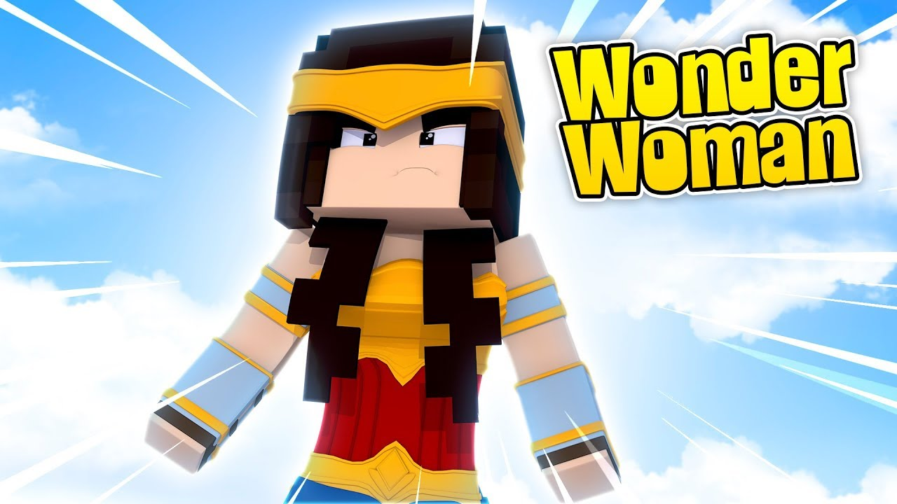 how to build wonder woman in minecraft