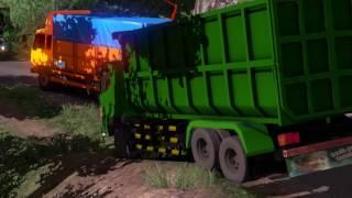 ETS 2 | Hino 500 Dump Truck Blong Kejar Muatan - Sukabumi