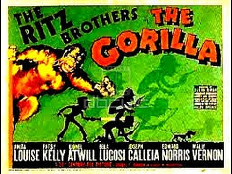 The Gorilla (1939) Comedy Horror, Starring the Ritz Brothers