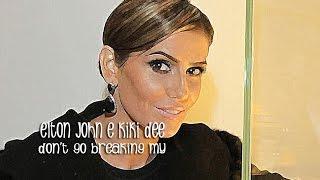 Baixar Don't Go Breaking My Heart Elton John e Kiki Dee (Tradução)  BOOGIE OOGIE (Lyrics Video)HD