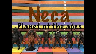 Planet of the Apes NECA & Hasbro action figure collection toy review