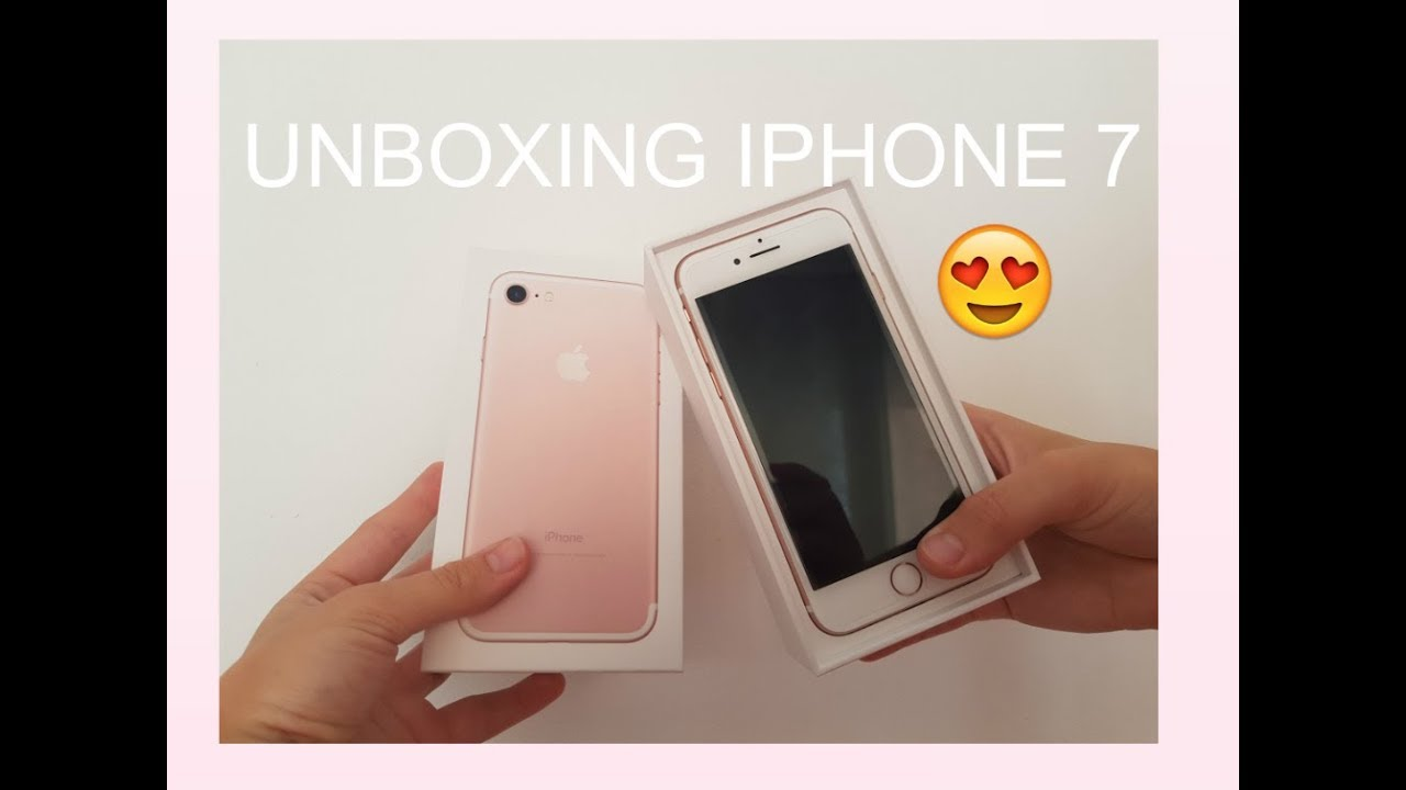 iphone 7 unboxing unboxing iphone 7 11566