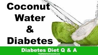 Coconut Water Good Diabetes