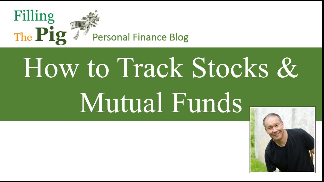 how to create an investment portfolio and track stocks and mutual