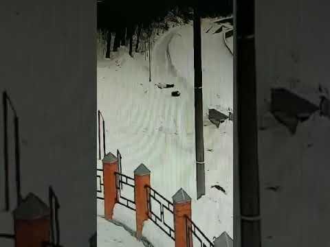Орловчанка получила травму, скатившись с горы
