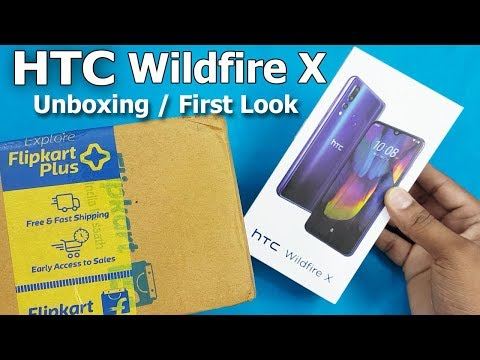 HTC Wildfire x unboxing First Look Htc Wildfire X Specifications