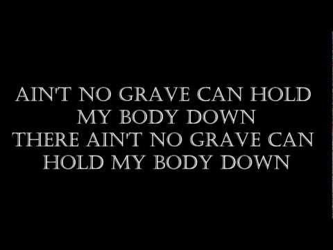 Ain't No Grave (Johnny Cash karaoke) .wmv