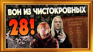 Кого Выгнать Из Списка Священных 28 в Гарри Поттере?