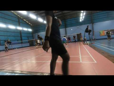 Badminton 2018 Dual meet ACN vs Globe Game 7