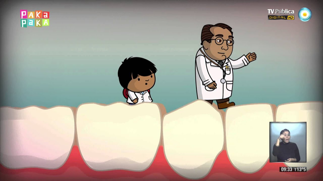 Zamba - Excursión al cuerpo humano: los dientes - YouTube