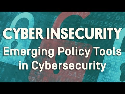 Cyber Insecurity: Emerging Policy Tools in Cybersecurity