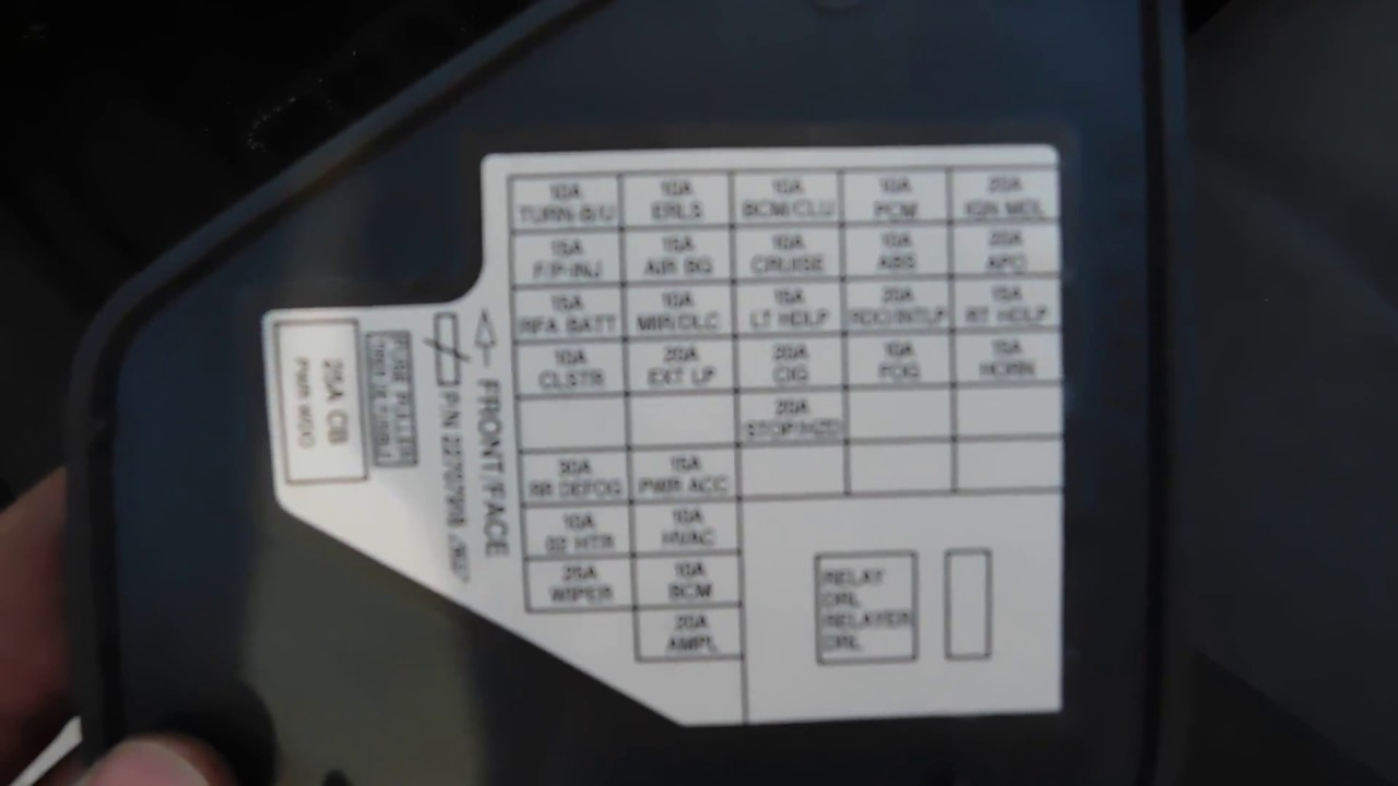 small resolution of pontiac sunfire fuse box location and diagram