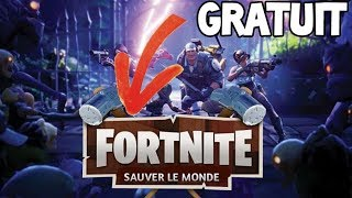 DO SAUVER THE WORLD FREE ON FORTNITE