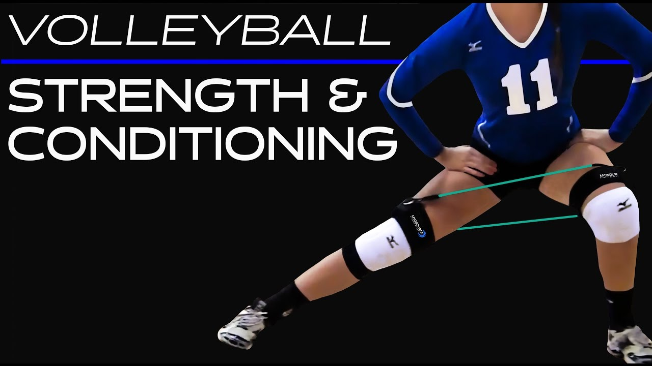 Volleyball Conditioning, Conditioning Drills, Strength Training