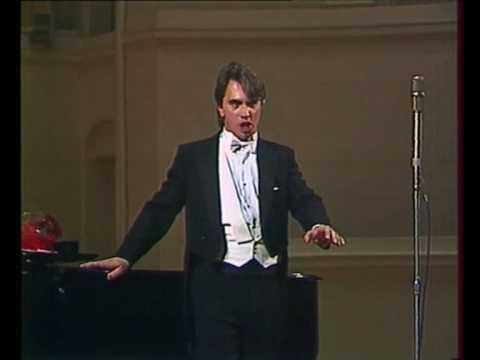 Hvorostovsky: Rachmaninoff recital 1990 11/12 Arioso of Mazeppa (Tchaikovsky)
