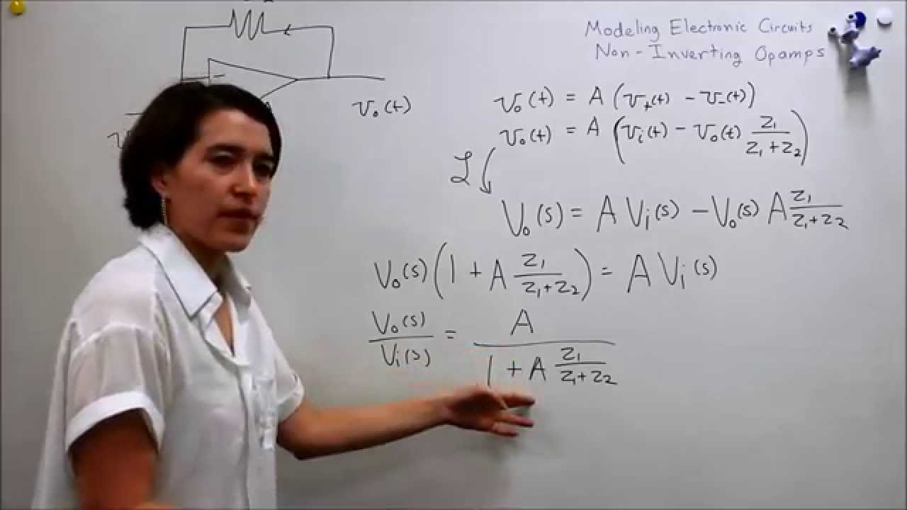 Intro To Control 31 Non Inverting Opamp Transfer Function Youtube Op Amp How Does This Noninverting Amplifier Work Premium