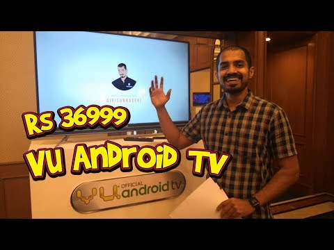 VU Android 4K TVs launched - Details in Tamil