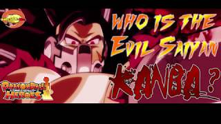 Who Is The Evil Saiyan Kanba/Cumber?