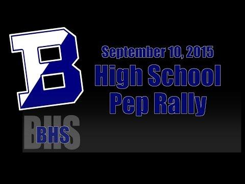 2015 Brighton High School Pep Rally