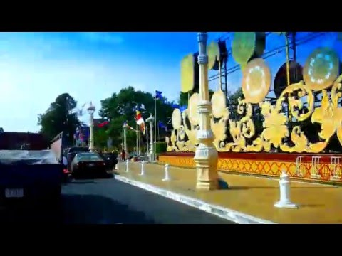 Asian Travel Timelapse - Phnom Penh Crazy Traffic Today - Youtube 12
