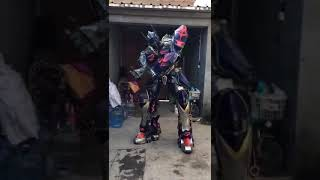 Optimus Prime Transformer Adult Costume for Party and Advertising Custom Mascots at Aris Mascots