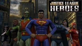 Justice League Heroes PSP Playthrough - Diablo With Superheroes