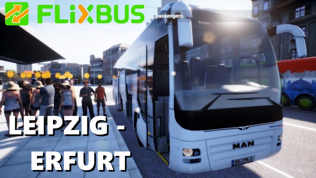 Bus Erfurt Fernbus 2018 Leipzig Erfurt Route Max Settings Live Gameplay