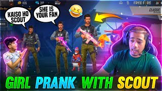 Girl Voice Prank On Scout - He Got Angry ? || Two Side Gamers x Op Scout Best Funny Moments