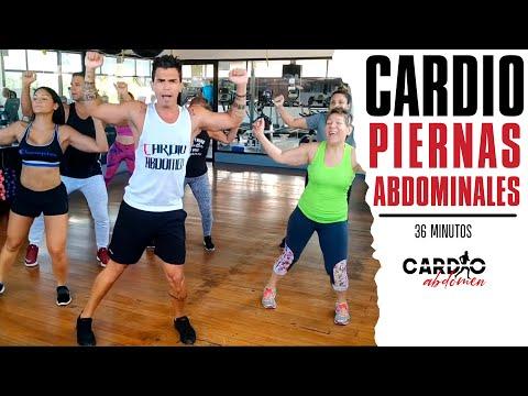 Rutina de Cardio, Piernas y Abdominales |En Casa|.