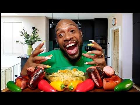 sauerkraut-and-kielbasa-sausage-mukbang-먹방-...-eating-show-먹방-...-llips-hot-sauce-website-launch-...