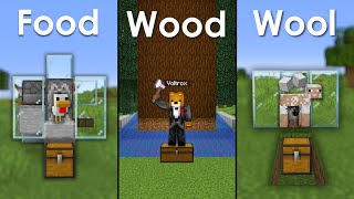 Minecraft: Top 3 MUST Have Beginner Farms For In Your Survival World! #2