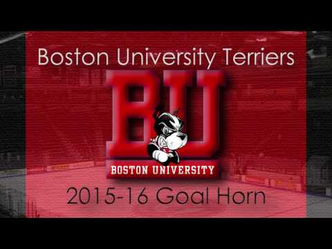 Boston University Terriers 2015-16 Goal Horn