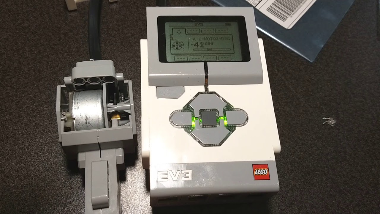 How to Repair the Rotation Sensor on a LEGO MINDSTORMS EV3