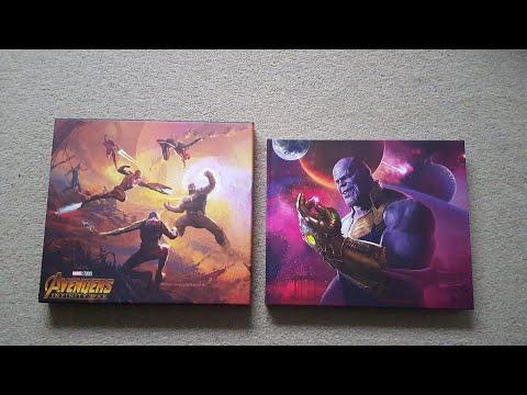 Marvel Art of Avengers Infinity War book 1080p HD