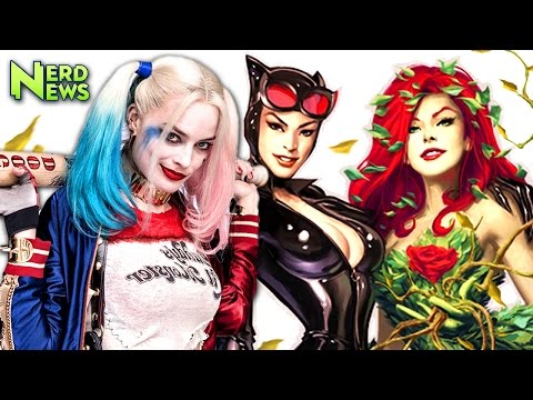 HARLEY QUINN Gotham City Sirens Movie Confirmed! David Ayer Directing!