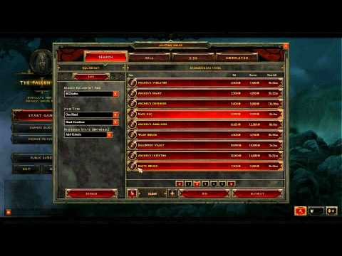 Diablo 3 Beta Patch 5 AH Supply and Demand
