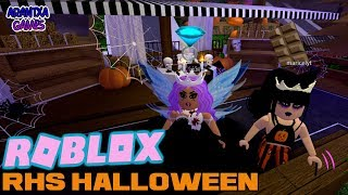 Halloween en Royal High School Roblox 🎃 Arantxa jogos