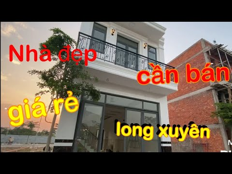 Nhà Đẹp Khu Dân Cư Lê Trân ,Mỹ Quý Long Xuyên An Giang, Vừa Hoàn Thiện 100% ( 05/02/ 2021)