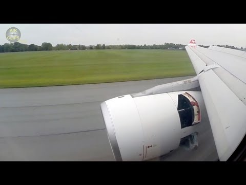 Swiss Airbus A330 Approach, Landing and Engine Reverse in Montreal, Canada!!! [AirClips]