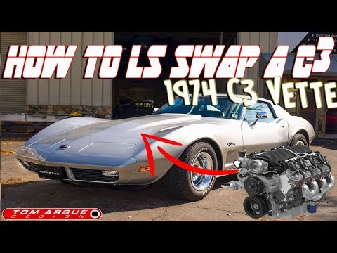 This Is How You LS3 Swap A C3 Corvette: Tom Argue Design
