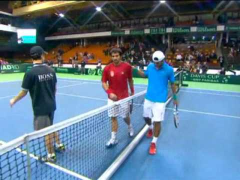 Davis Cup Highlights: Serbia 4-1 India