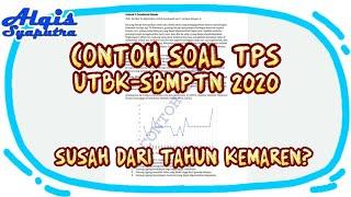 Contoh Bentuk Soal UTBK-SBMPTN 2020 Ternyata Mudah Asal ...