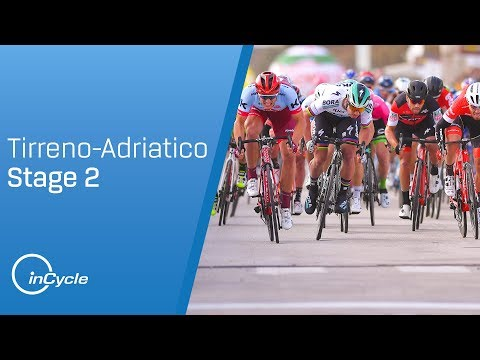 Tirreno-Adriatico 2018: Stage 2 Highlights