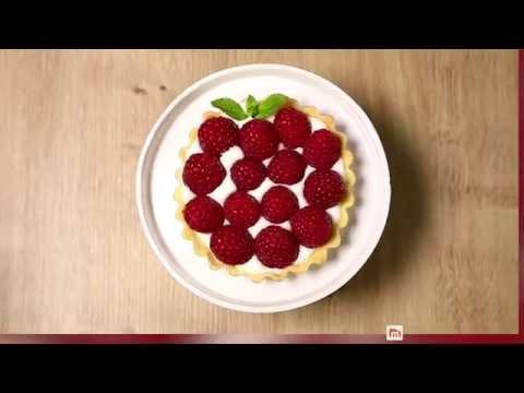 Tartelettes framboises