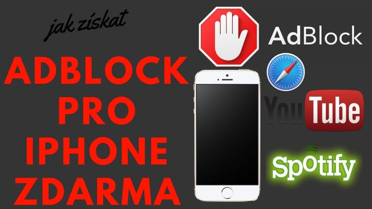 Reklamám stop Adblock pro iPhone, iPad, iPod ZDARMA iOS 11.2 |2018| FUNKČNí - YouTube