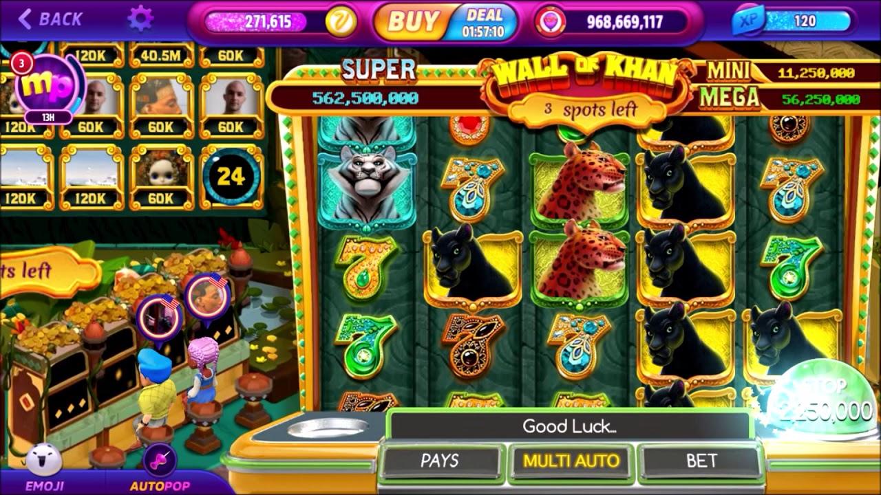 Pop slots casino free chips l