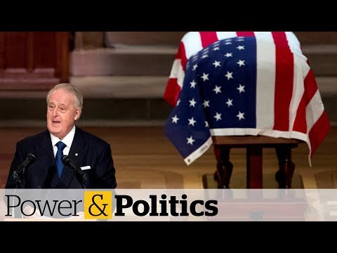 Mulroney pays tribute to George H.W. Bush